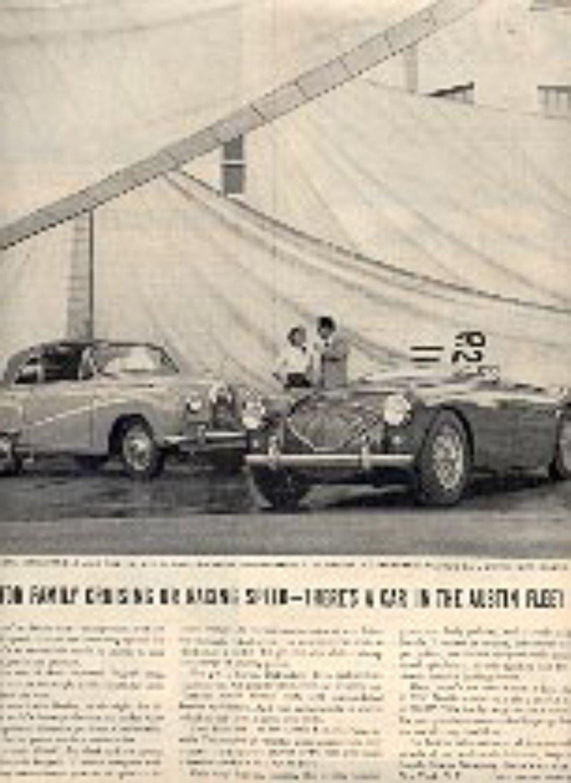 1954  Austin Convertible ad (# 2777)