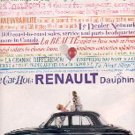 1959 Renault Dauphine ad (# 2773)