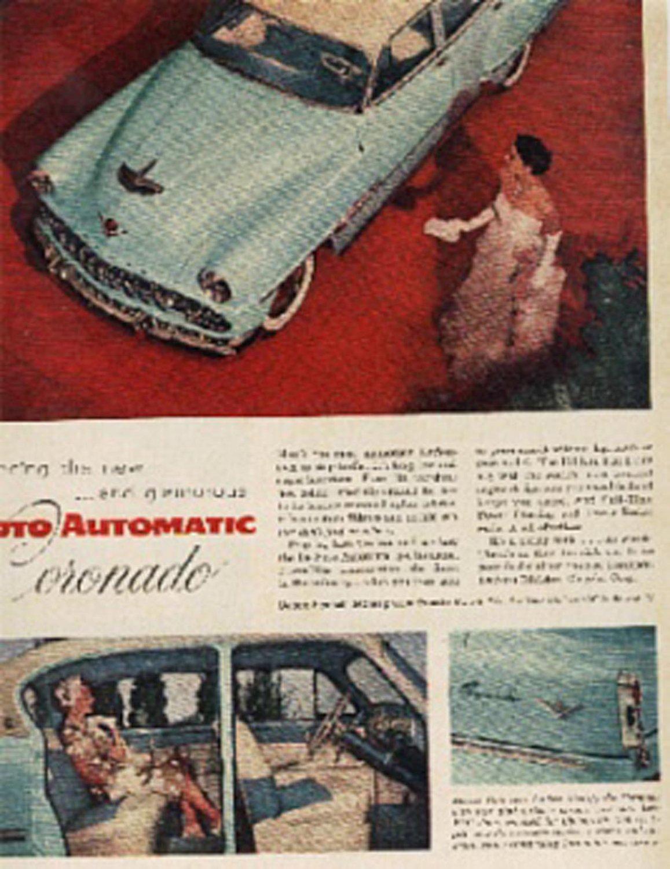 1954 Desoto automatic Coronado ad (#166)