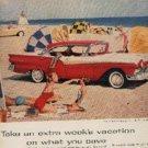 1957 Ford Fairlane 500Town Victoria ad (# 254)