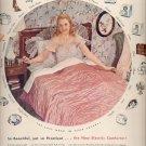 Dec. 8,1947   Westinghouse electric  comforter     ad  (#6375)