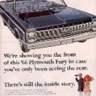 1965 ad of '66 Plymouth   Fury ( # 2790)