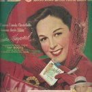 Sept. 13, 1948     Chesterfield cigarettes with Susan Hayward       ad  (# 4616)