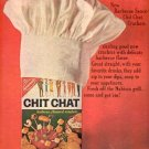 1964 Nabisco Chit Chat Crackers ad ( #2549)