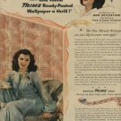 1945   Trimz Wallpaper  ad  (#  647)