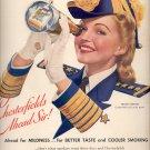 April 7, 1941    Chesterfield Cigarettes     ad  (#3737)