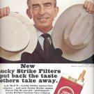 June 19, 1965      Lucky Strike Cigarettes    ad  (#2014)