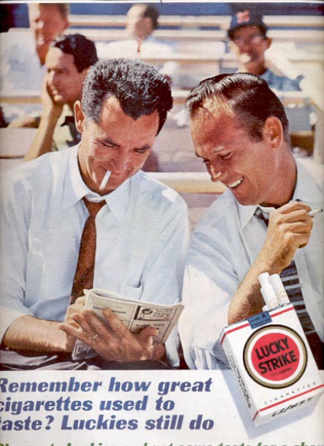 1961 Lucky Strike Cigarettes  ad (#5428)