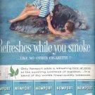 1960  Newport Cigarettes  ad (#5365)