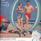 1957  Oasis Filters Cigarettes  ad (# 4643)