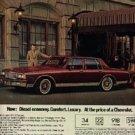 1981  Chevrolet  Caprice ad ( # 1260)
