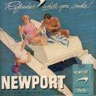 1959  Newport    Cigarettes  ad ( # 2178)