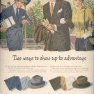 1946  Stetson narrow brim hats   ad (# 5095)