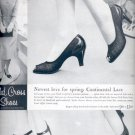 1957  Red Cross Shoes  ad (# 4737)