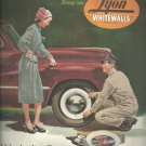 June 1947  Lyon Whitewalls Tires    ad  (#175)