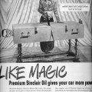 Sept. 22, 1947         Sinclair Opaline Motor Oil  ad  (#6277)