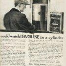 1918 Havoline Oil ad (# 197)