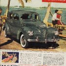 1939 Plymouth ad (# 215)