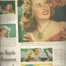Sept. 13, 1948 Lustre-Creme Shampoo        ad  (#2357)