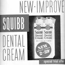 Sept. 15, 1947      Squibb Dental Cream     ad  (#6300)
