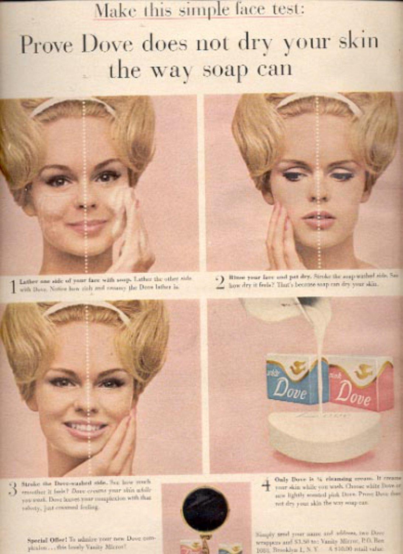 1964   Dove Cleansing Cream Soap    magazine  ad (# 4883)