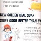 1957    Dial Deodorant Soap   ad (# 4695)