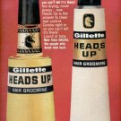 1965 Gillette Heads Up Hair Grooming  ad (#4247)