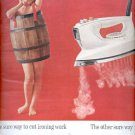 1963  Presto Spray-Steam iron  ad (#5400)
