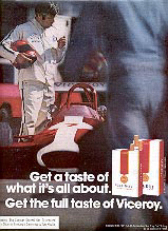 1972 Viceroy    cig.    magazine   ad ( # 1436)