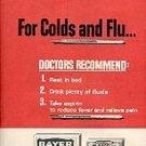 1963  Bayer Aspirin    ad (#  1376)