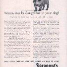 1962  Sergeant's Dog Wormer ad ( # 2086)