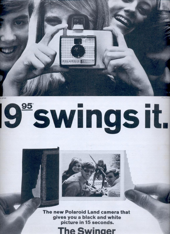 Polaroid Swinger Land Camera
