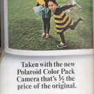 June 19, 1965 Polaroid Color Pack camera    ad  (#1835)