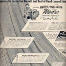April 7, 1947      United Wallpaper weaves     ad  (#6413)