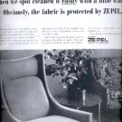 1964  DuPont ZePel fabric fuoridizer   ad (#5634)