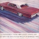 1962 Buick Wildcat ad ( # 2648)
