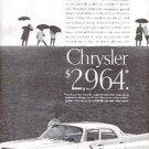 1961  Chrysler ad ( # 2593)