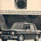 Nov. 20, 1962  Renault  R-8  ad ( # 2362)