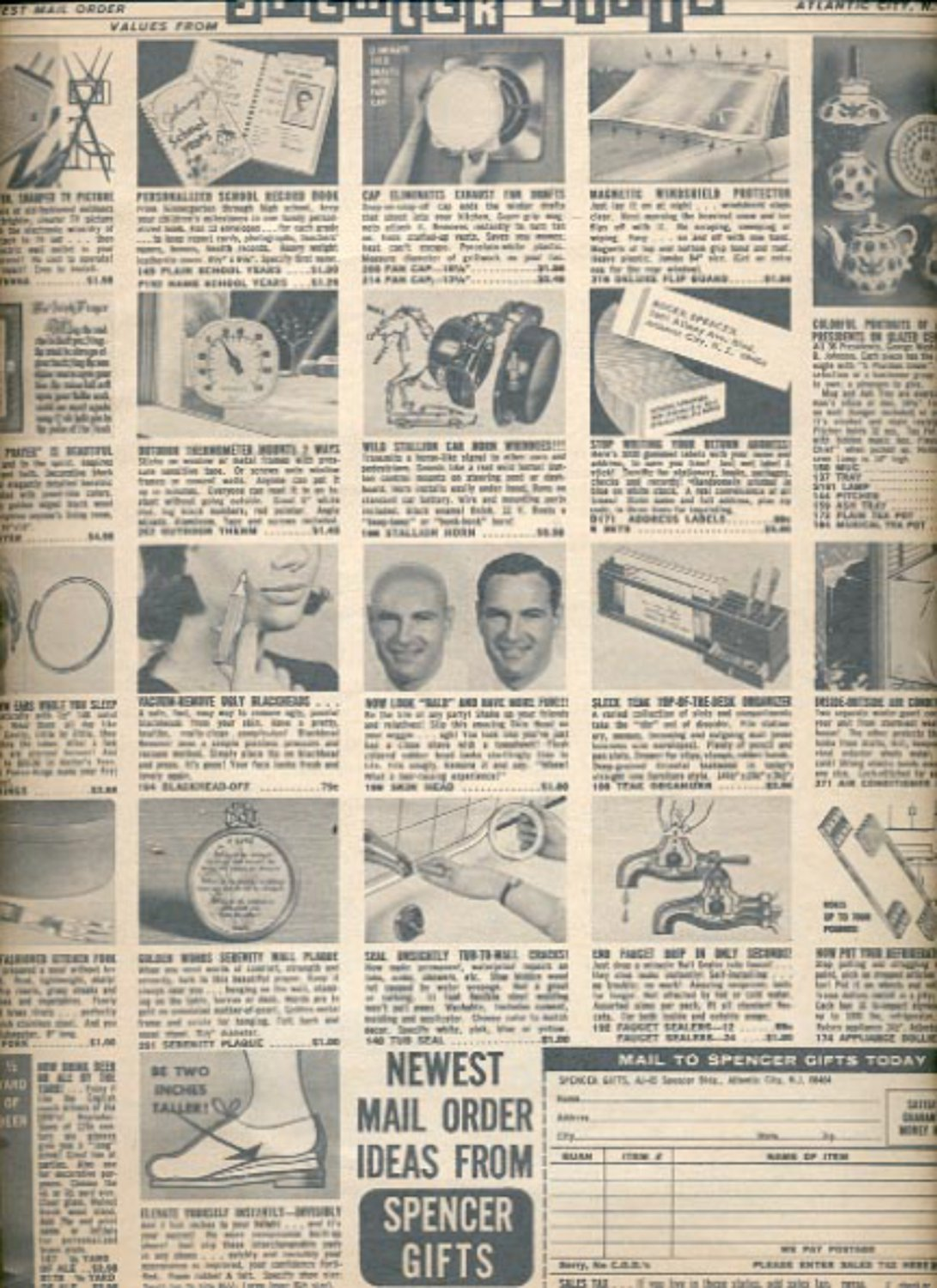 1966 Spencer Gifts, Inc.  ad (#5513)