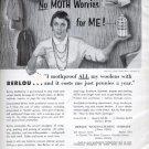 1957  Berlou Mothspray   ad (# 4828)
