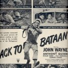 June 25, 1945     Back to Bataan movie with John Wayne    ad  (#3778)