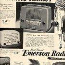 1947  Emerson Radio ad ( # 1911)