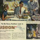 1948  Pan American World Airways ad (# 529)
