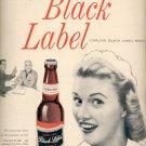 1957   Carling Black Label Beer  ad (# 4638)