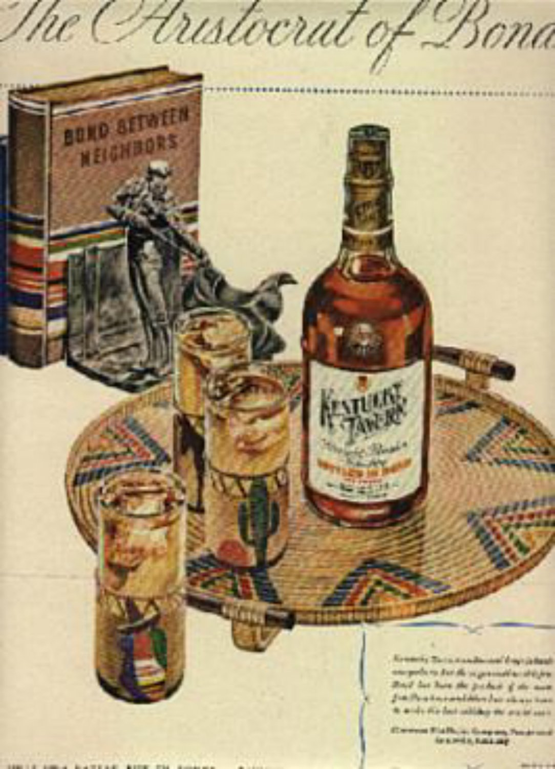 1946  Kentucky Tavern Whiskey ad (# 772)