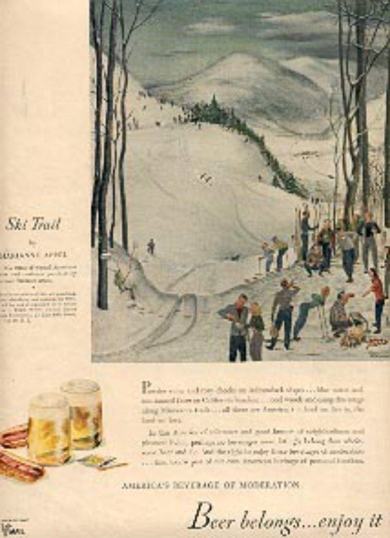 1945 Beer Belongs... ad (# 2428)