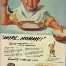 1945  Campbells Vegetable Soup ad (#  1233)