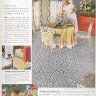 1948   Tumble- Twist Rugs-  Libertyville Textiles ad (#4226)
