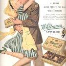 Oct. 9, 1944    Whitmans Chocolates  ad  (#2881)
