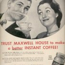 April 28, 1947  Instant Maxwell House Coffee  ad (#6123)